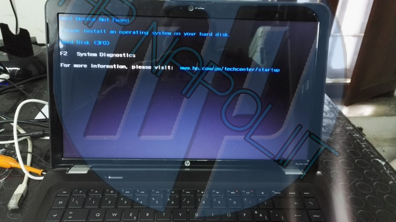hp errore hard disk 3f0 – Centro Assistenza Hp Napoli